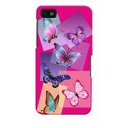 Snooky 35373 Digital Print Hard Back Case Cover For Blackberry Z10 - Pink