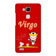 Snooky 37488 Digital Print Hard Back Case Cover For huawei Ascend Mate 7 - Red