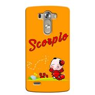 Snooky 37634 Digital Print Hard Back Case Cover For LG G3 - Yellow