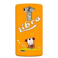 Snooky 37635 Digital Print Hard Back Case Cover For LG G3 - Yellow