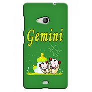 Snooky 38037 Digital Print Hard Back Case Cover For Microsoft Lumia 535 - Green