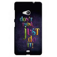 Snooky 38041 Digital Print Hard Back Case Cover For Microsoft Lumia 535 - Black