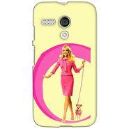 Snooky 38567 Digital Print Hard Back Case Cover For Motorola Moto G - Yellow