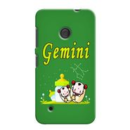 Snooky 37987 Digital Print Hard Back Case Cover For Nokia Lumia 530 - Green