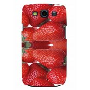 Snooky 35728 Digital Print Hard Back Case Cover For Samsung Galaxy S3 I9300 - Red