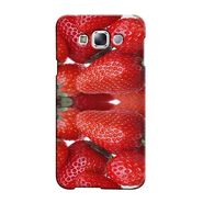 Snooky 36509 Digital Print Hard Back Case Cover For Samsung Galaxy E7 - Red