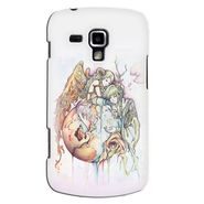 Snooky 38206 Digital Print Hard Back Case Cover For Samsung Galaxy S Duos S7562 - Multicolour
