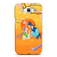Snooky 38218 Digital Print Hard Back Case Cover For Samsung Galaxy Grand Quattro GT-I8552 - Orange