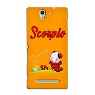 Snooky 37734 Digital Print Hard Back Case Cover For Sony Xperia C3 - Yellow