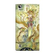 Snooky 37557 Digital Print Hard Back Case Cover For Vivo Y15 - Green