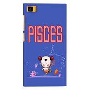 Snooky 38389 Digital Print Hard Back Case Cover For Xiaomi MI3 - Purple