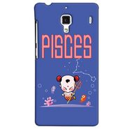 Snooky 38489 Digital Print Hard Back Case Cover For Xiaomi Redmi 1S - Purple