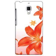 Snooky 38514 Digital Print Hard Back Case Cover For Xiaomi Redmi 1S - White