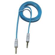 Flashmob C429AU Jelly Flat Aux Cable - Blue