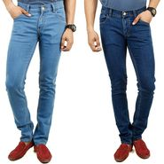 Pack of 2 Cotton Jeans For Men_F200672
