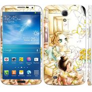 Snooky 39605 Digital Print Mobile Skin Sticker For Samsung Galaxy Mega 6.3 - White