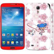 Snooky 39616 Digital Print Mobile Skin Sticker For Samsung Galaxy Mega 6.3 - White