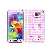 Snooky 39632 Digital Print Mobile Skin Sticker For Samsung Galaxy S5 Mini - Pink