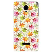 Snooky 40278 Digital Print Mobile Skin Sticker For Micromax Canvas Fun A74 - White