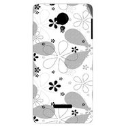 Snooky 40288 Digital Print Mobile Skin Sticker For Micromax Canvas Fun A74 - White