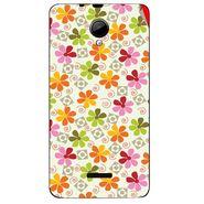 Snooky 40292 Digital Print Mobile Skin Sticker For Micromax Canvas Fun A76 - White