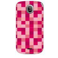 Snooky 40324 Digital Print Mobile Skin Sticker For Micromax Ninja A89 - Pink