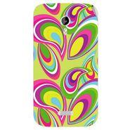 Snooky 40351 Digital Print Mobile Skin Sticker For Micromax Canvas Lite A92 - multicolour