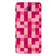 Snooky 40423 Digital Print Mobile Skin Sticker For Micromax Unite 2 A106 - Purple