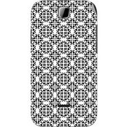 Snooky 40486 Digital Print Mobile Skin Sticker For Micromax Ninja 3.5 A54 - White