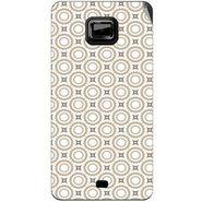 Snooky 40515 Digital Print Mobile Skin Sticker For Micromax Ninja A91 - Brown