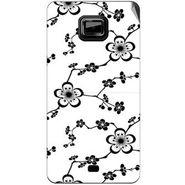Snooky 40524 Digital Print Mobile Skin Sticker For Micromax Ninja A91 - White