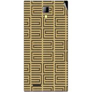 Snooky 40532 Digital Print Mobile Skin Sticker For Micromax Canvas Xpress A99 - Brown
