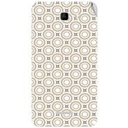 Snooky 40571 Digital Print Mobile Skin Sticker For Micromax Canvas XL2 A109 - Brown