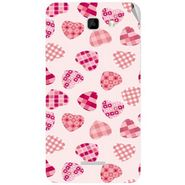 Snooky 40578 Digital Print Mobile Skin Sticker For Micromax Canvas XL2 A109 - White