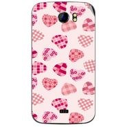 Snooky 40592 Digital Print Mobile Skin Sticker For Micromax Canvas 2 A110 - White