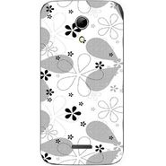 Snooky 40624 Digital Print Mobile Skin Sticker For Micromax Canvas 2.2 A114 - White