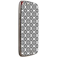 Snooky 40864 Digital Print Mobile Skin Sticker For XOLO A510S - White