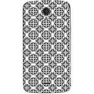 Snooky 40934 Digital Print Mobile Skin Sticker For XOLO Omega 5.0 - White