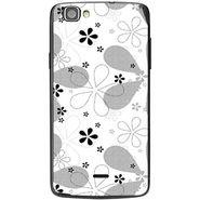 Snooky 40974 Digital Print Mobile Skin Sticker For XOLO One - White