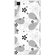 Snooky 41002 Digital Print Mobile Skin Sticker For XOLO Q600S - White