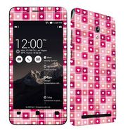 Snooky 41223 Digital Print Mobile Skin Sticker For Asus Zenfone 6 A600CG/A601CG - Pink