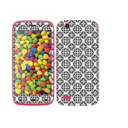 Snooky 41242 Digital Print Mobile Skin Sticker For Gionee Elife E3 - White