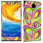 Snooky 41275 Digital Print Mobile Skin Sticker For Gionee Elife E7 - multicolour
