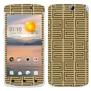 Snooky 41316 Digital Print Mobile Skin Sticker For OPPO N1 Mini - Brown