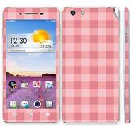 Snooky 41346 Digital Print Mobile Skin Sticker For OPPO R1 R829t - Pink