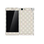 Snooky 41355 Digital Print Mobile Skin Sticker For OPPO R5 - Brown