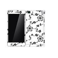 Snooky 41364 Digital Print Mobile Skin Sticker For OPPO R5 - White