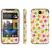 Snooky 41370 Digital Print Mobile Skin Sticker For HTC Desire 310 - White