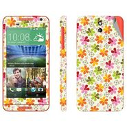 Snooky 41384 Digital Print Mobile Skin Sticker For HTC Desire 610 - White