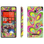 Snooky 41429 Digital Print Mobile Skin Sticker For HTC 8X C620E - multicolour